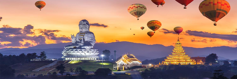 Flights From San Francisco To Thailand (SFO - CNX)