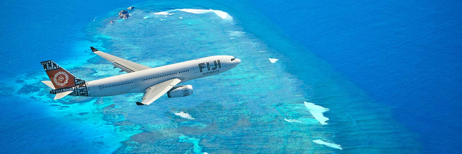 Find Fiji Airways Flights from New Plymouth (NPL) to Suva (SUV)