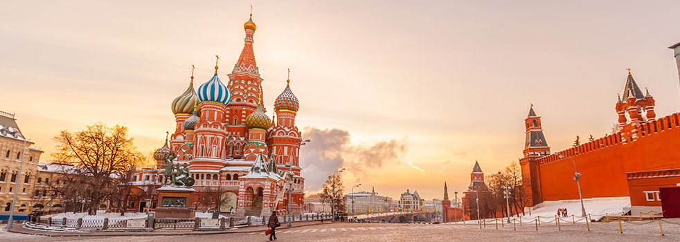 Search Flights from China to Russia