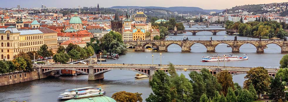 Search Flights from China to Czech Republic