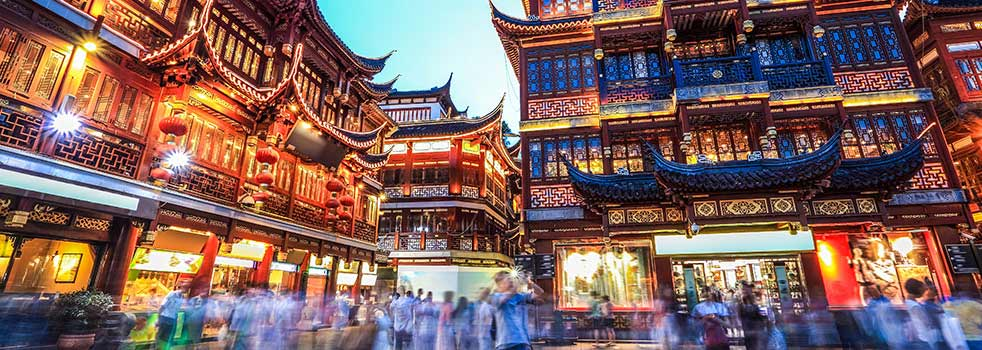 Find Flights from Manchester to Shanghai (MAN - SHA)