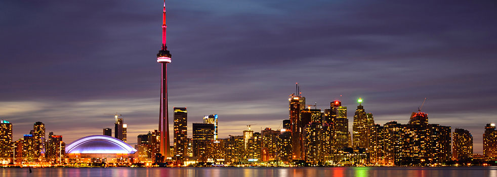Search Flights from Toronto (YYZ)