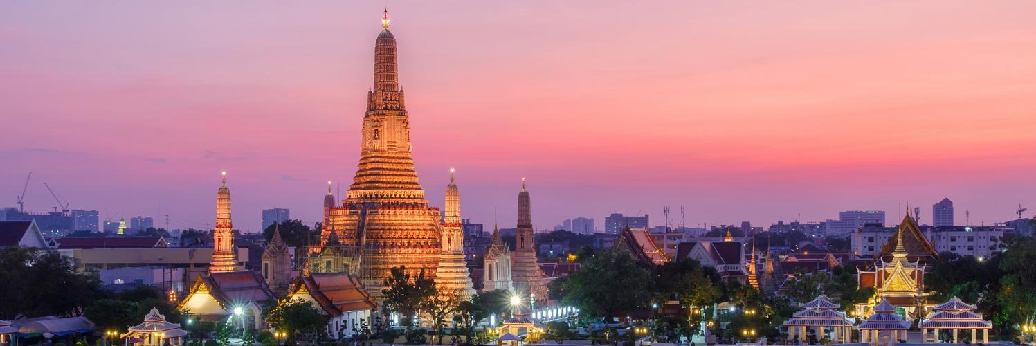 Book Flights to Bangkok (BKK) with Fiji Airways