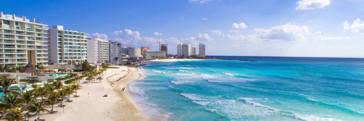 Fly to the best beaches in Mexico with United