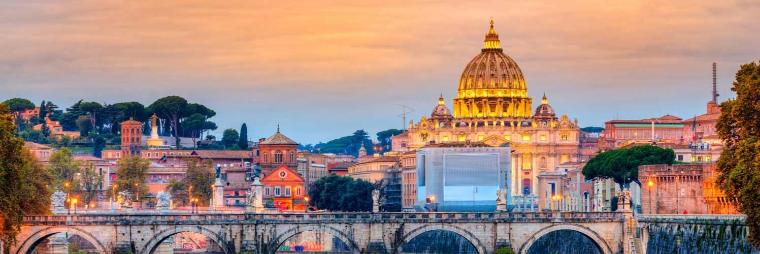 Vols vers Rome