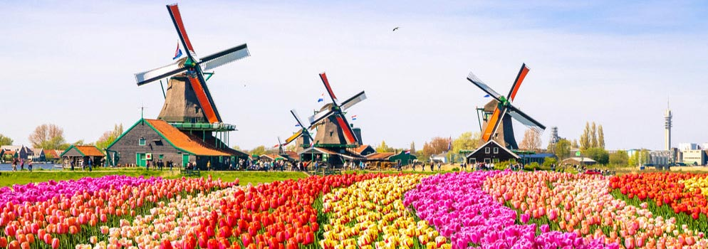 Compare & Book Low Airfares to Netherlands