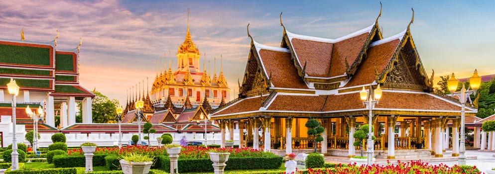 Compare Cheap China to Thailand Flights