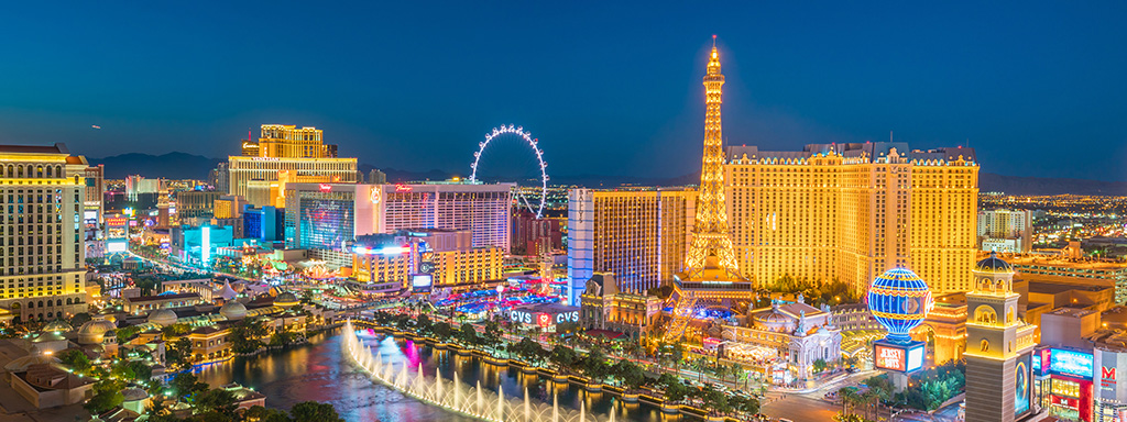 Ultra Low Fare Flights from New Orleans (MSY) to Las Vegas (LAS) with Spirit