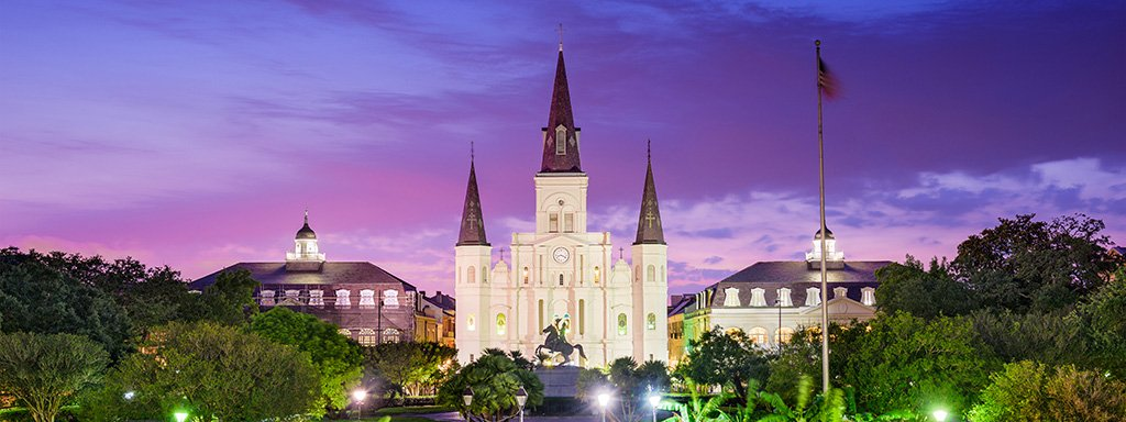 Ultra Low Fare Flights from Atlantic City (ACY) to New Orleans (MSY) with Spirit