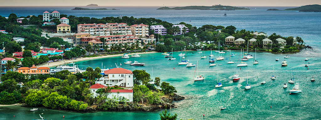 Ultra Low Fare Flights from Columbus (CMH) to St. Thomas (STT) with Spirit