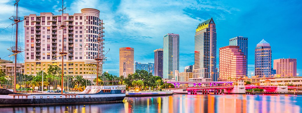 Ultra Low Fare Flights from Houston (IAH) to Tampa (TPA) with Spirit
