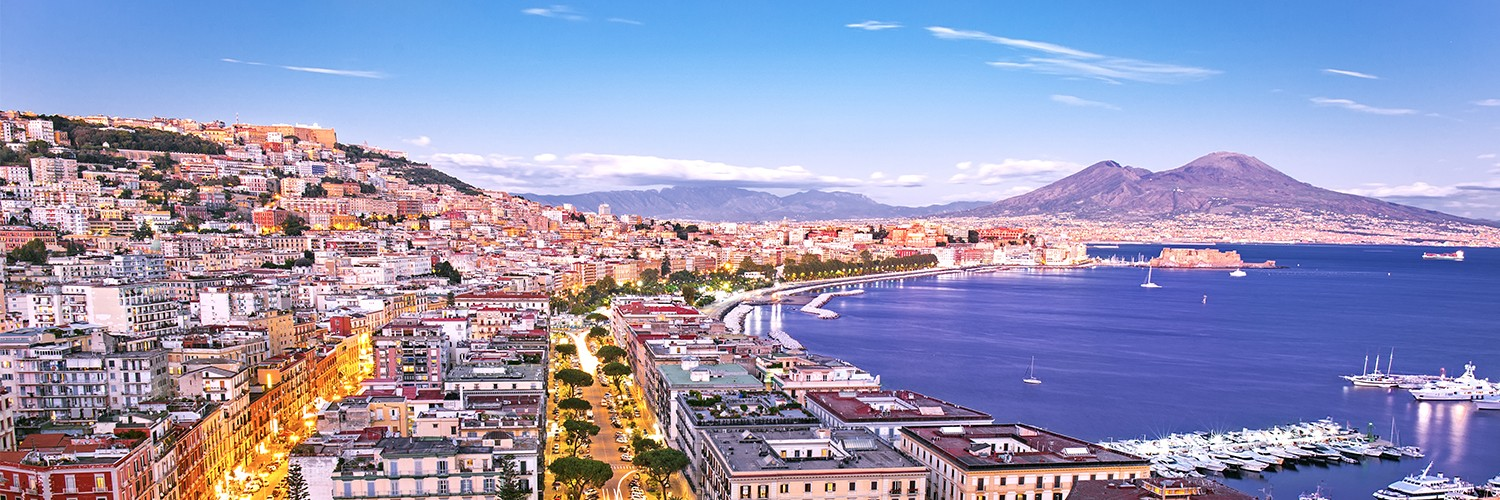 Flights to Naples (NAP) from 186 GBP