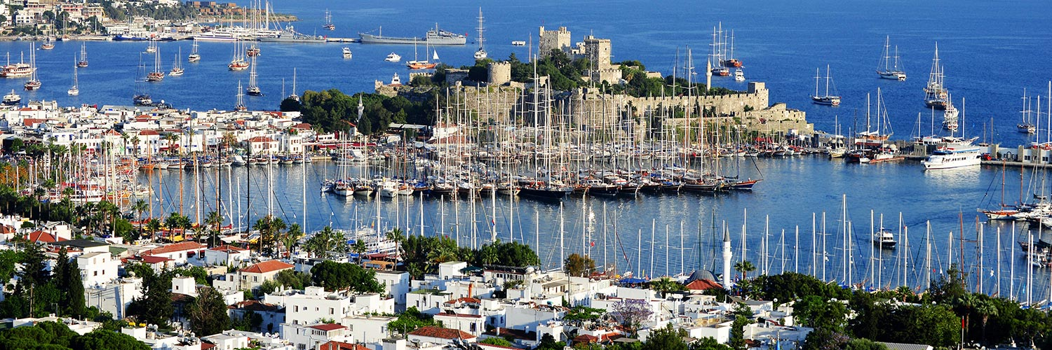 Flights from Bodrum (BJV) from 14 GBP