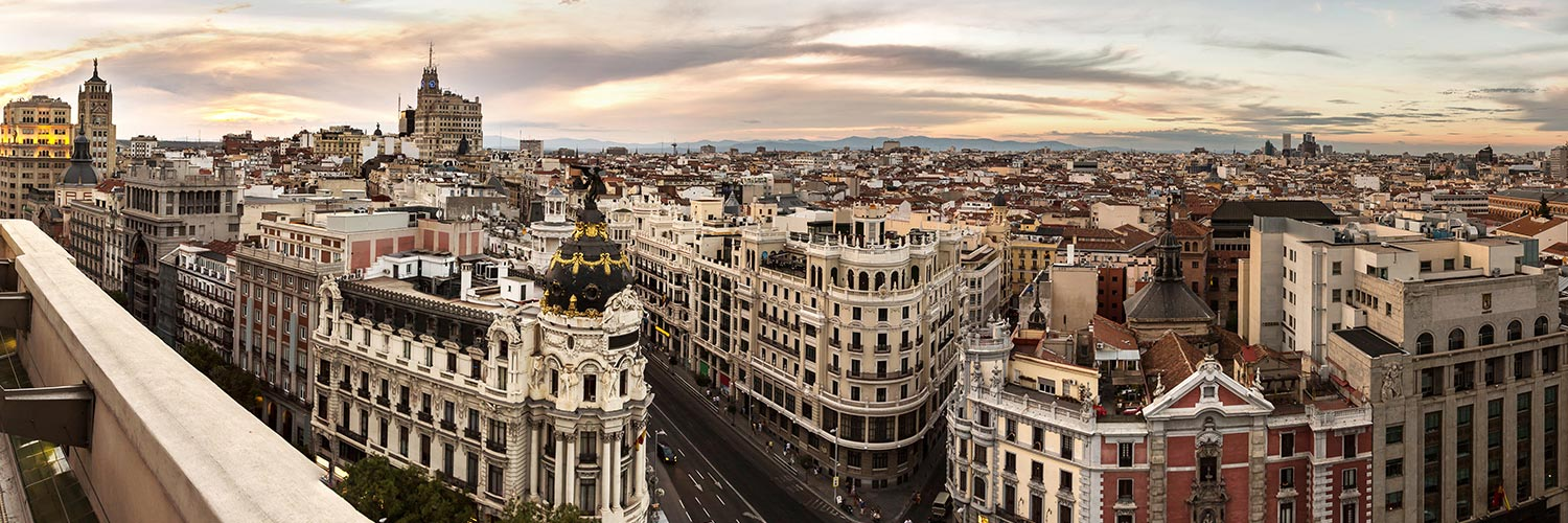 Flights from Madrid (MAD) from 57 GBP