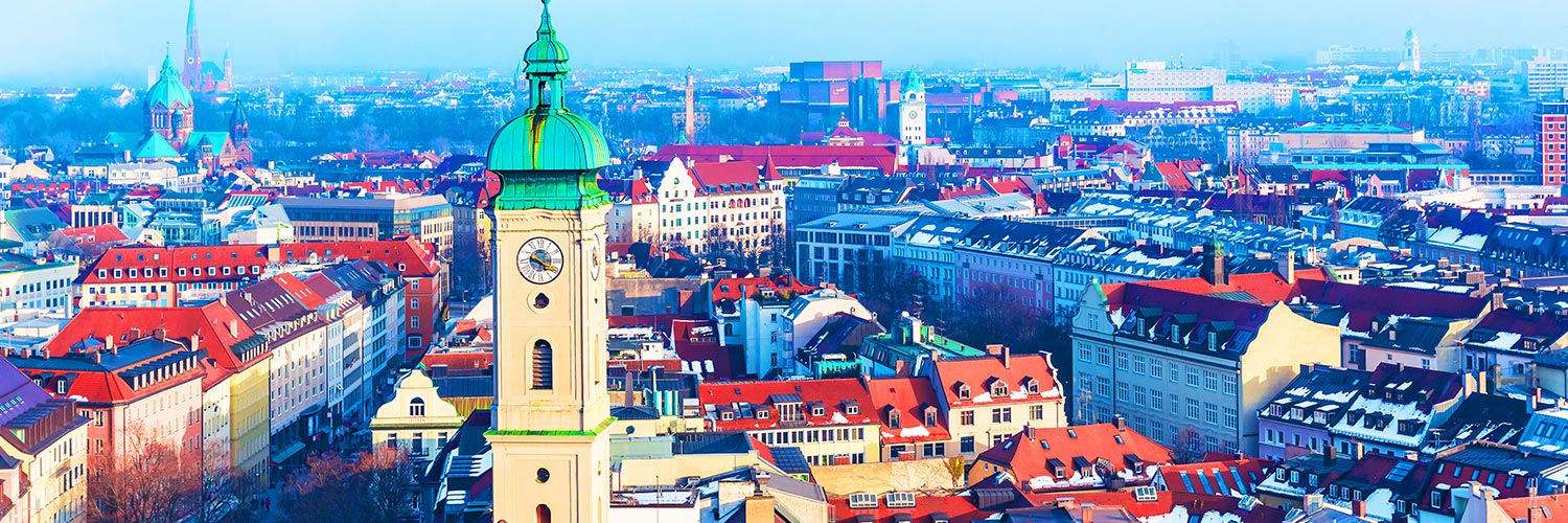 Flights to Munich (MUC) from 35 GBP