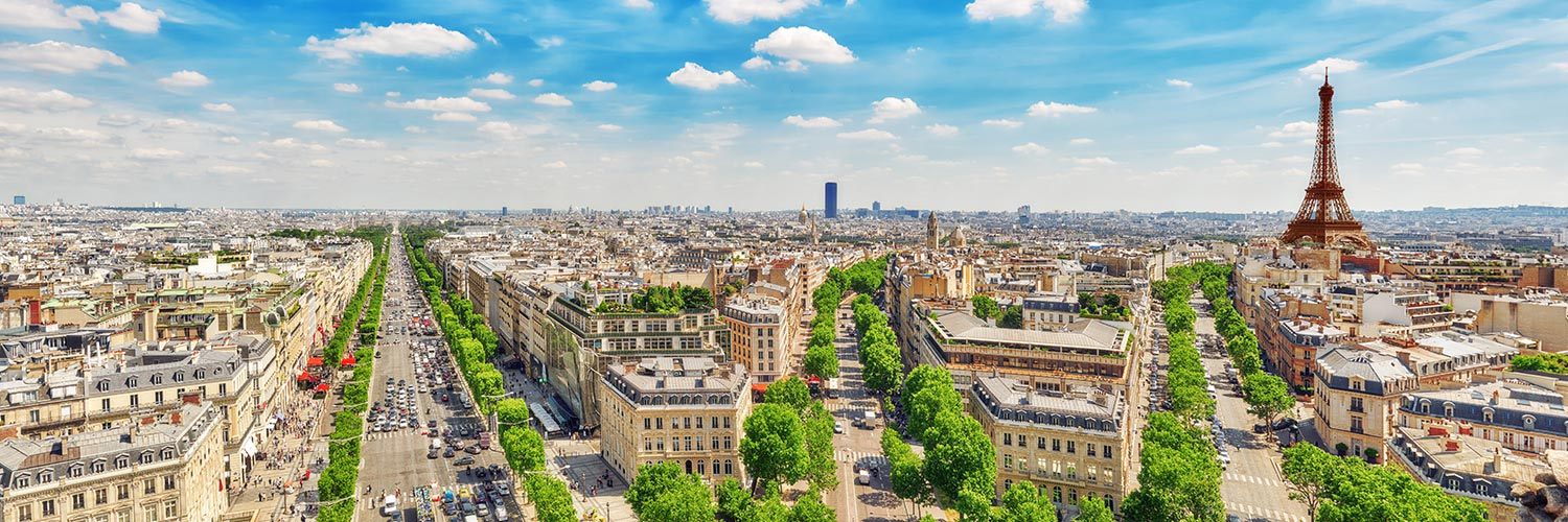 Flights to Paris (ORY) from 54 GBP