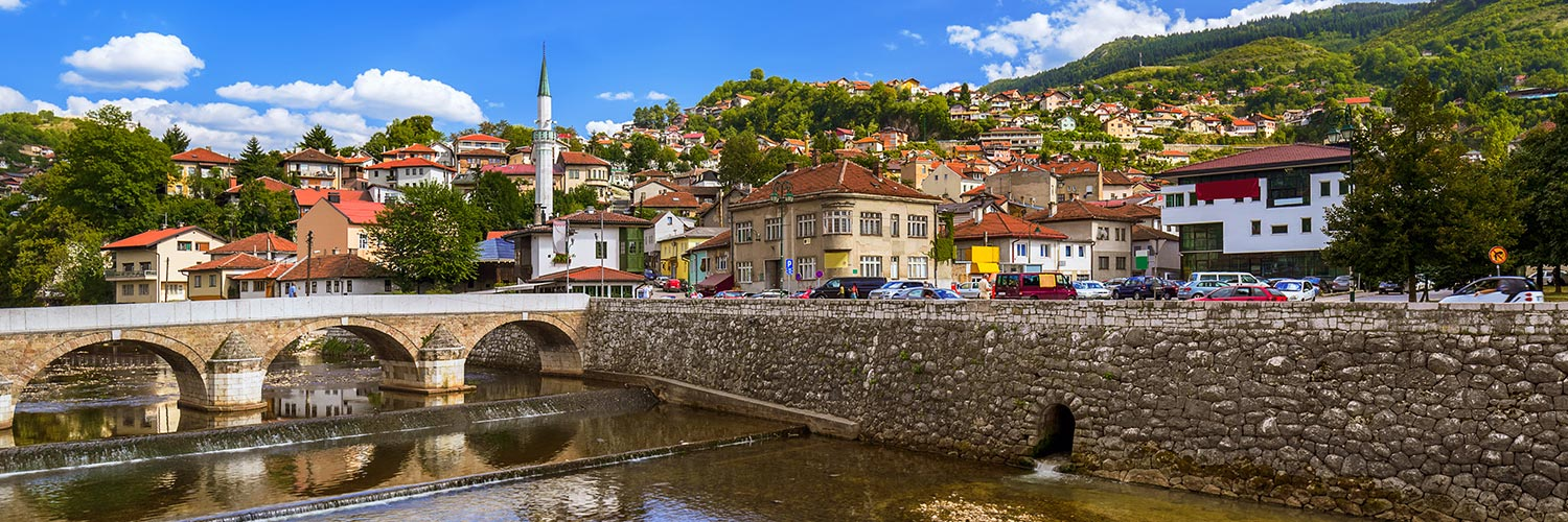Flights to Sarajevo (SJJ) from 24 GBP