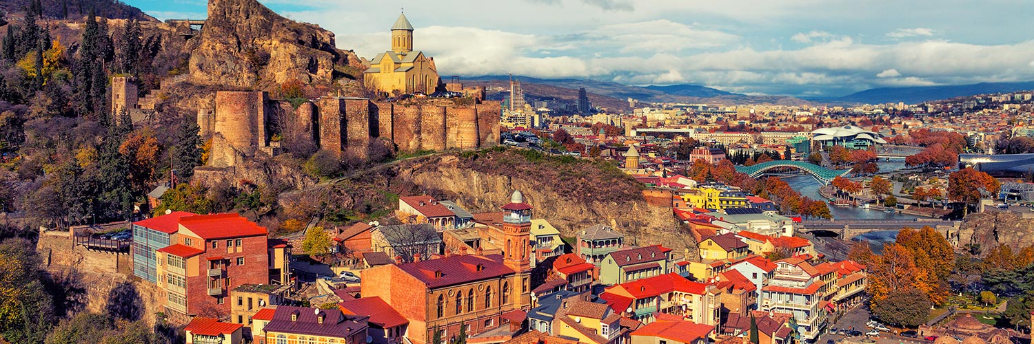 Flights from Spain to Tbilisi (TBS) from 74 GBP