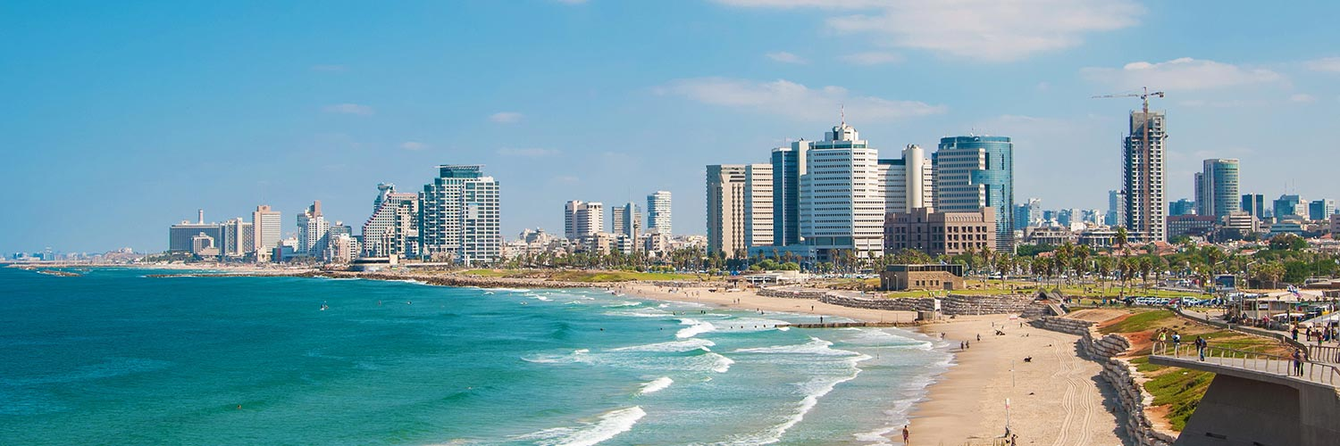 Flights to Tel Aviv (TLV) from 57 GBP