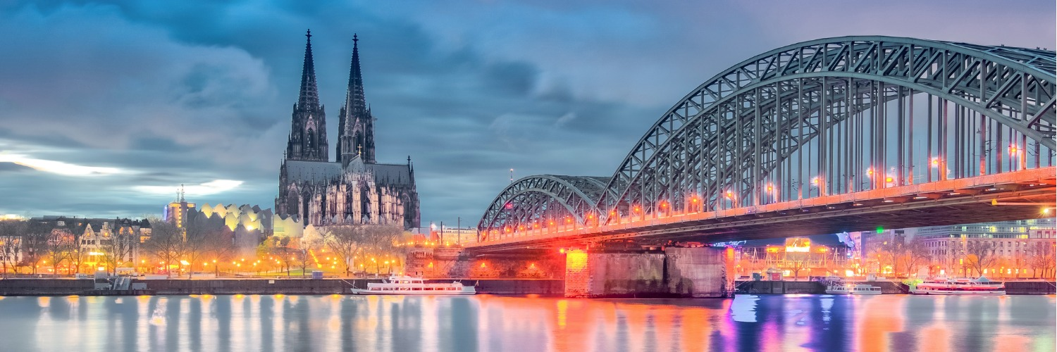 Flights to Cologne (CGN) from 52 GBP