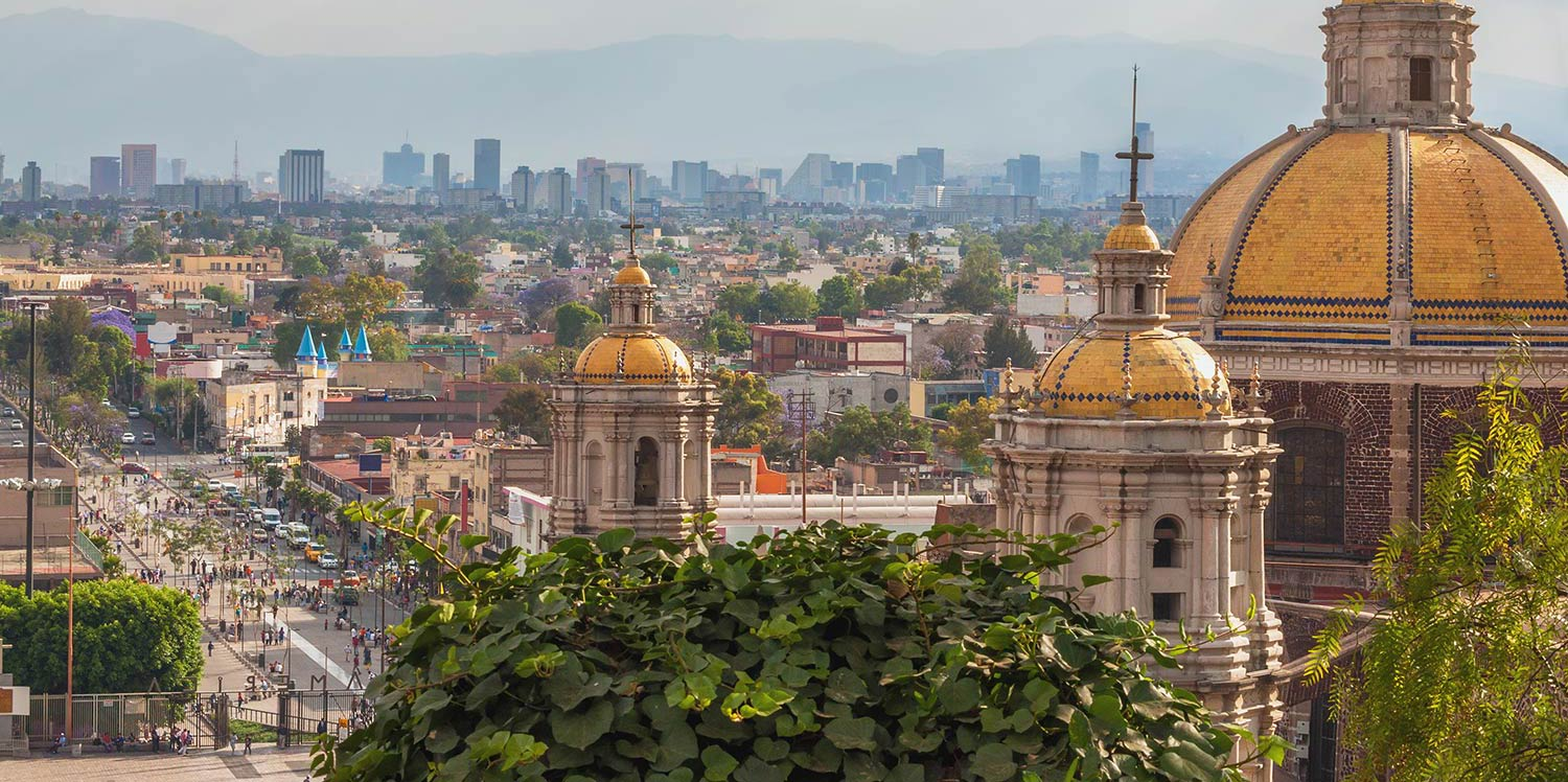 View of downtown Mexico City