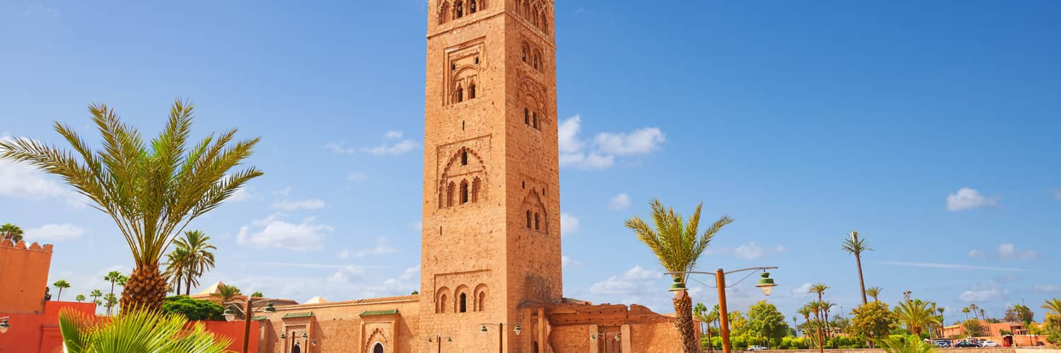 Search Amsterdam to Marrakech (AMS - RAK) Flight Deals