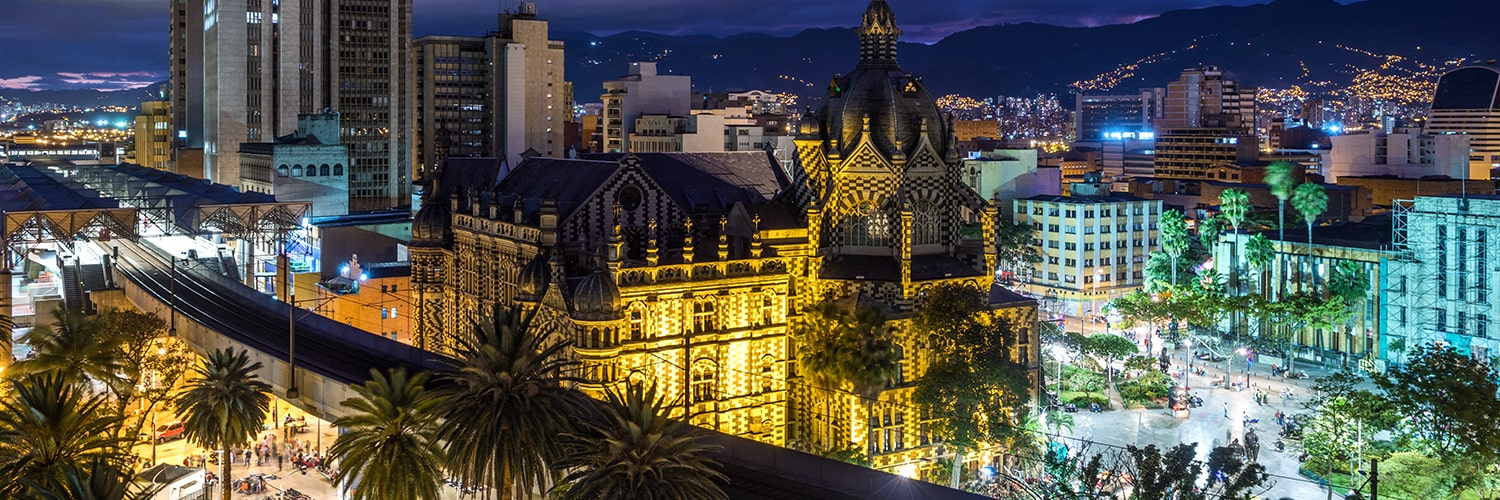 Search Brussels to Medellin (BRU - MDE) Flight Deals