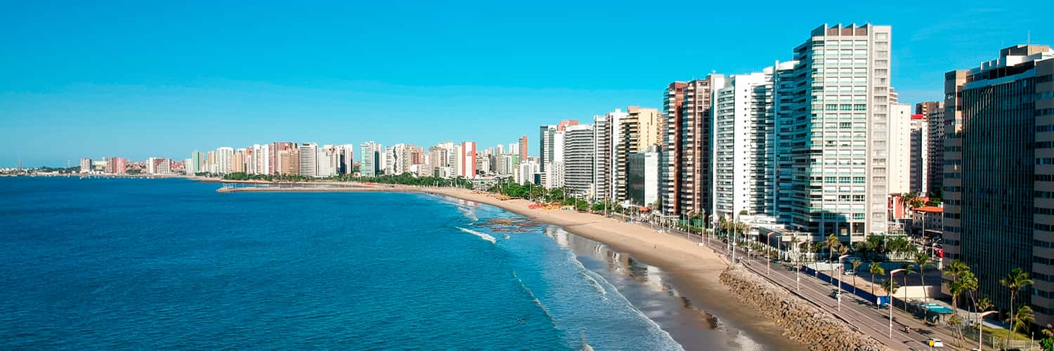 Search Dusseldorf to Fortaleza (DUS - FOR) Flight Deals