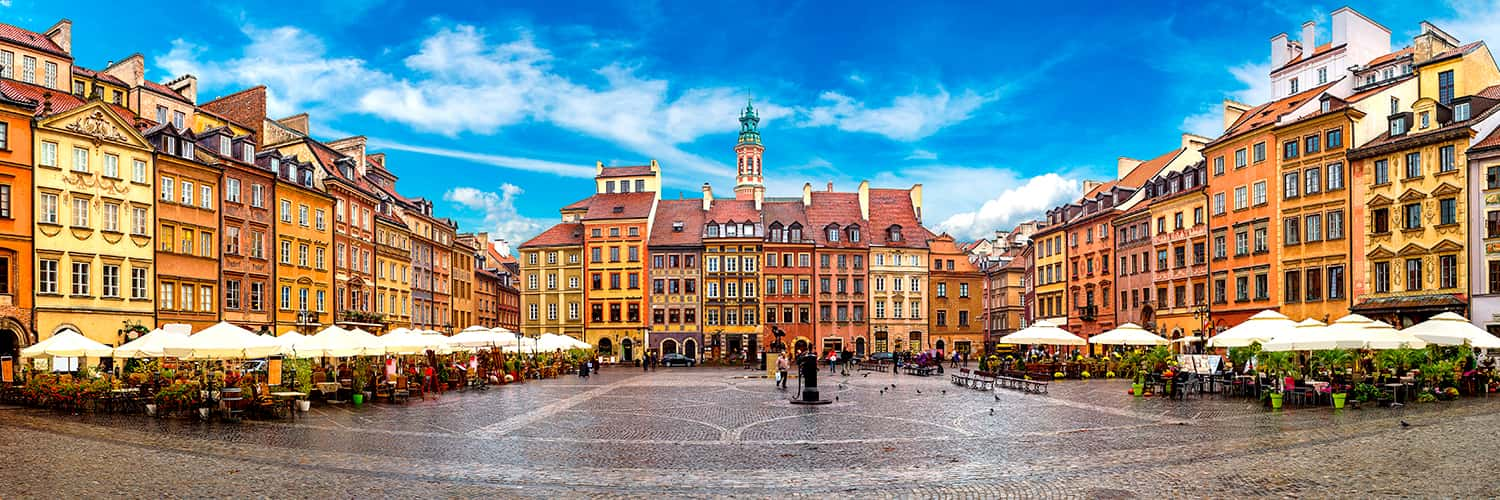 Search Madrid to Warsaw (MAD - WAW) Flight Deals