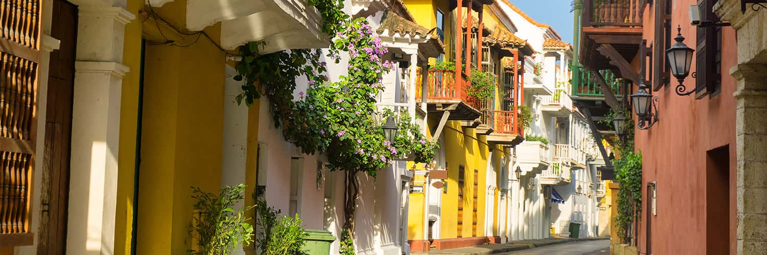 Search Rome to Cartagena (FCO - CTG) Flight Deals