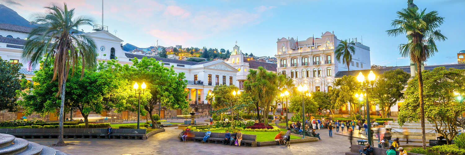 Search Amsterdam to Quito (AMS - UIO) Flight Deals