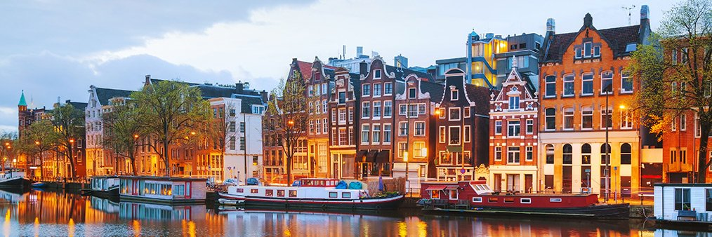 Search Santiago to Amsterdam (SCL - AMS) Flight Deals