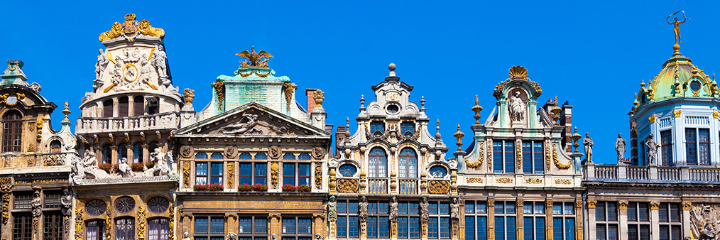 Guild houses brussels' grand place