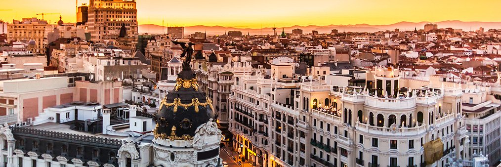 Search London to Madrid (LGW - MAD) Flight Deals