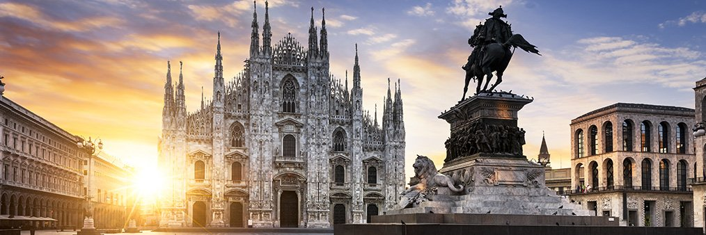 Search Madrid to Milan (MAD - MXP) Flight Deals